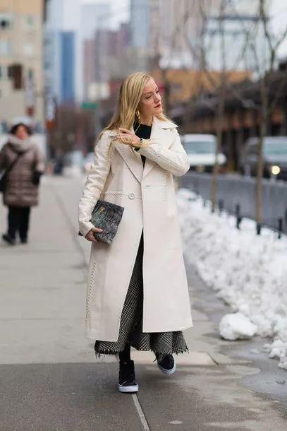 下周穿什麼 毛衣+它 最美大衣內搭