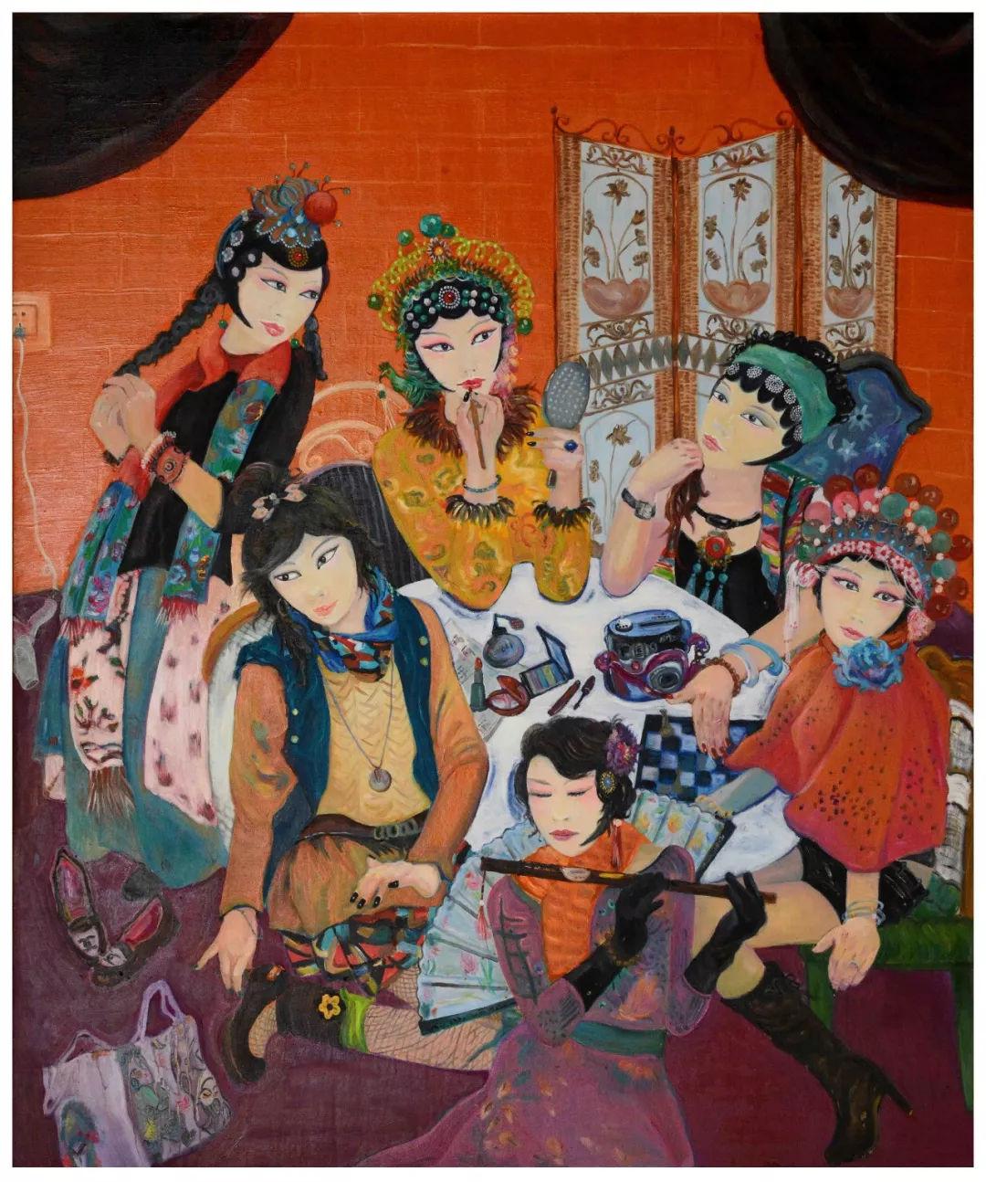 时代强音—纪念改革开放40周年大庆市美术作品展获奖作品欣赏!图片