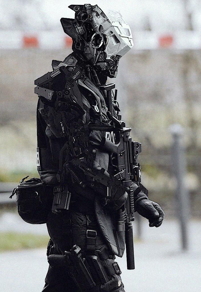 美军正在研制的未来战士单兵作战系统2050年部署?