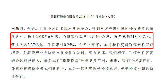 百信银行周年:消费贷款规模545亿,上半年亏2亿,盈利能力待解