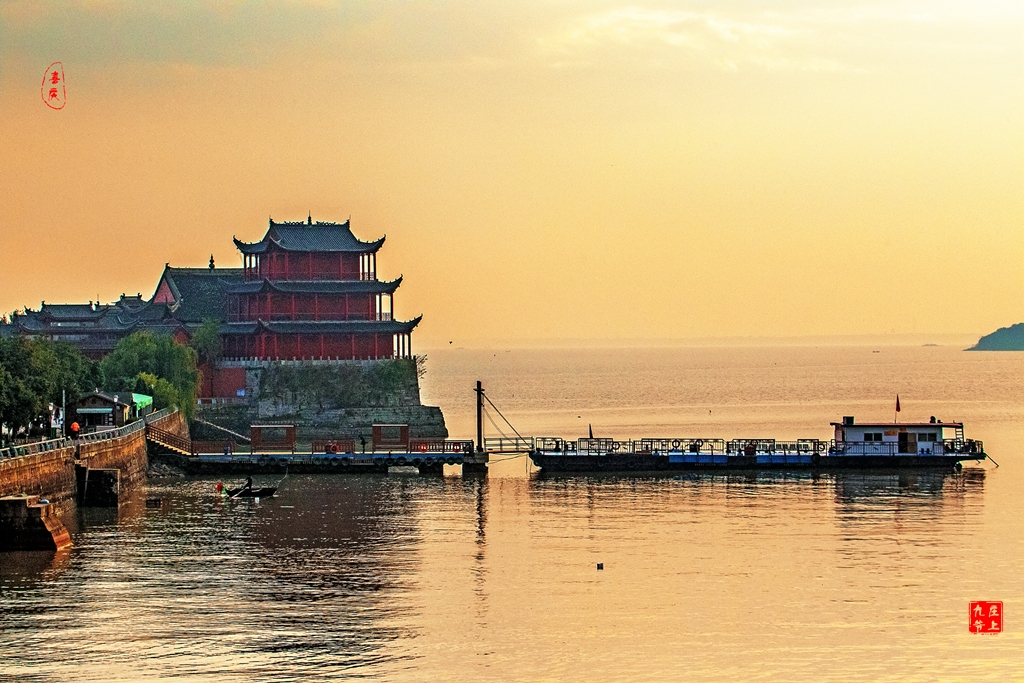 中庙寺的天下第一井 里面看得到八百巢湖渔舟荡漾