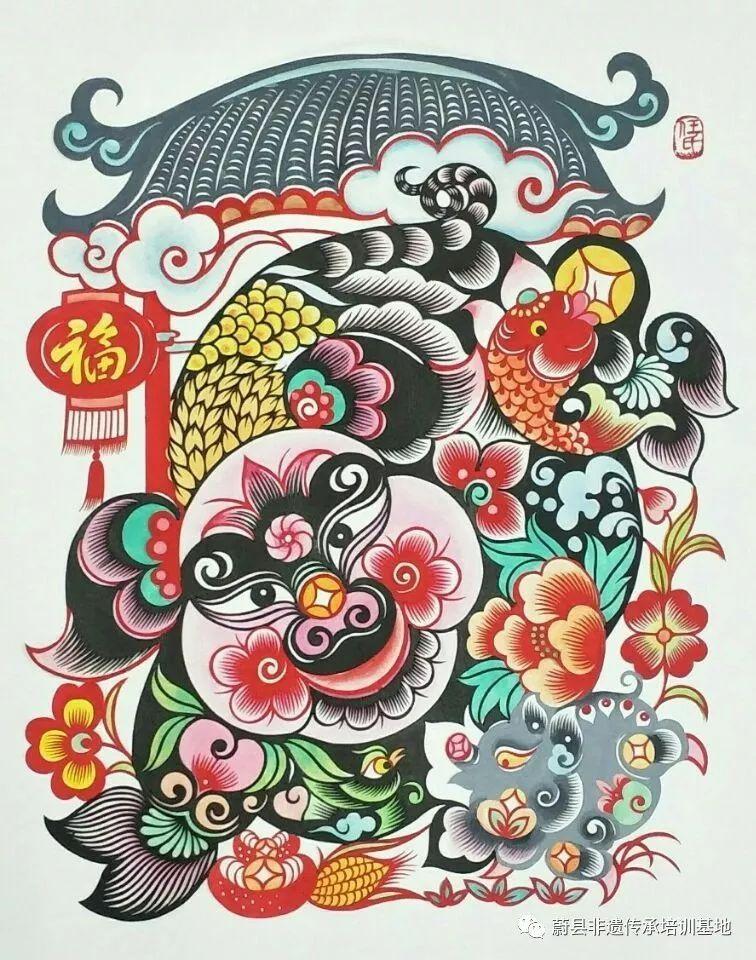 蔚县剪纸艺人参加《天津美术学院》剪纸艺术研修班顺利结业u图片