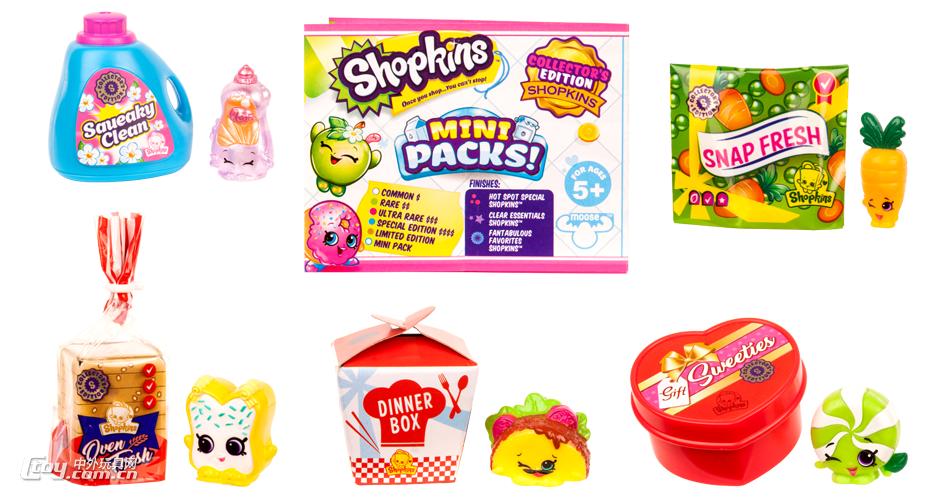 这些食品包装相对购物精灵的卡通风格,更加偏向真实商品的外观.图片