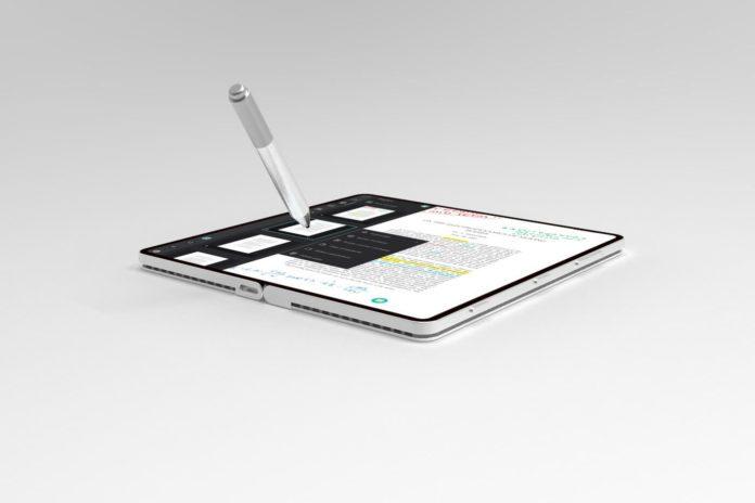 微软新专利曝光 设想可折叠移动设备采用基于触觉的按钮