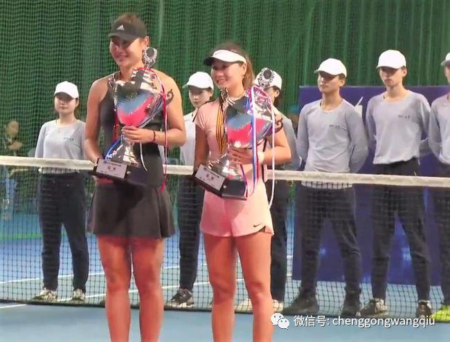 2018中国网球大奖赛在深圳落幕 张择段莹莹等捧杯
