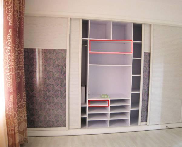 衣柜内部这样设计,你家还能多放100件衣服!_隔板