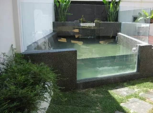 鱼池的造价约为6000~7000usd图片