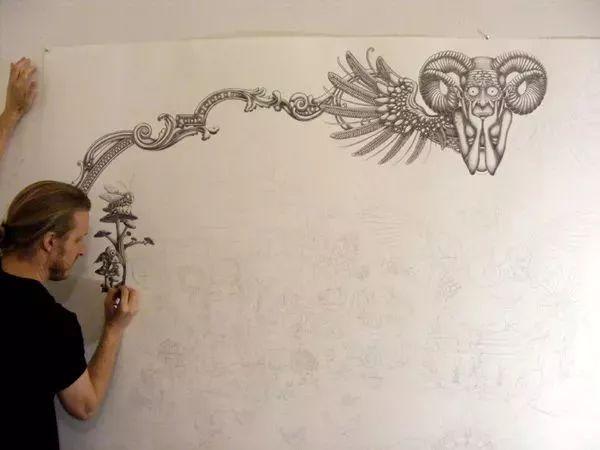 超现实手绘铅笔画 美国艺术家joe fenton作品欣赏