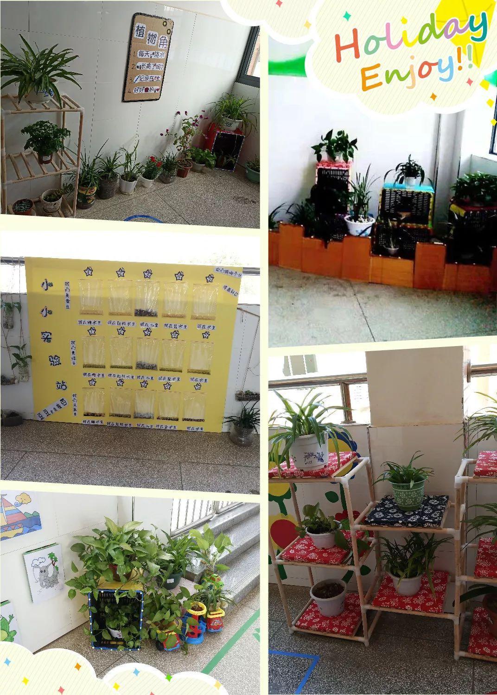 多元的舞台,个性的色彩 里仁学校附属幼儿园班级环境和区域创设评比活动图片