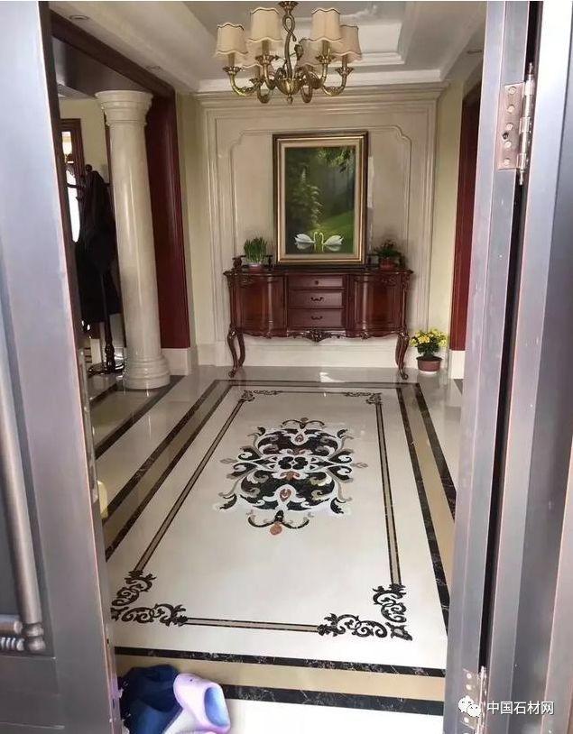 时尚 正文  别墅常用石材部位包括地面,墙面,楼梯,洗手间等,拼花和