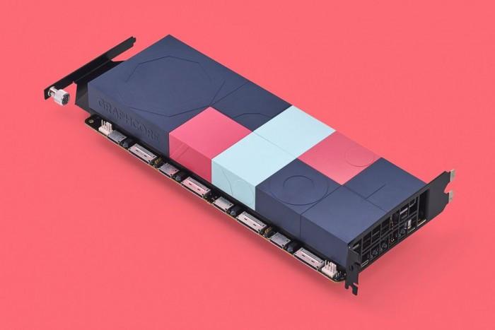 Graphcore 新AI芯片采用俏皮的彩色外觀設計