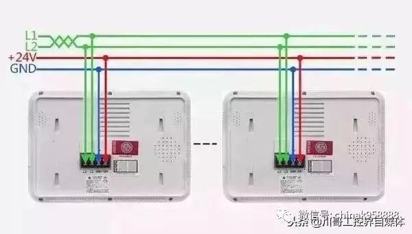 消防产品电气接线原理图