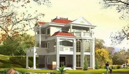 三层农村别墅设计图效果图完整自建房图纸 盖房知识 图纸之家