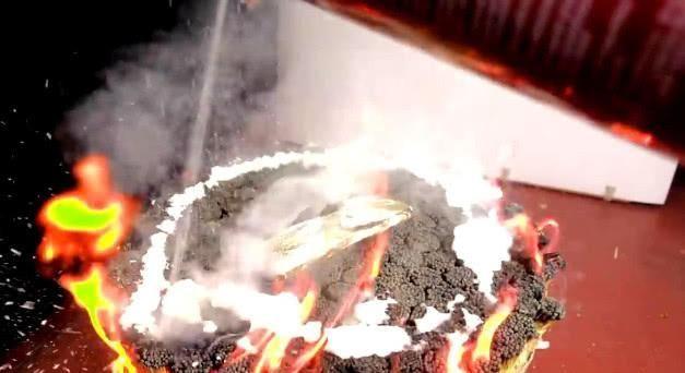 用5000根火柴烤的鱼,不管方式有多奇葩,它会熟吗