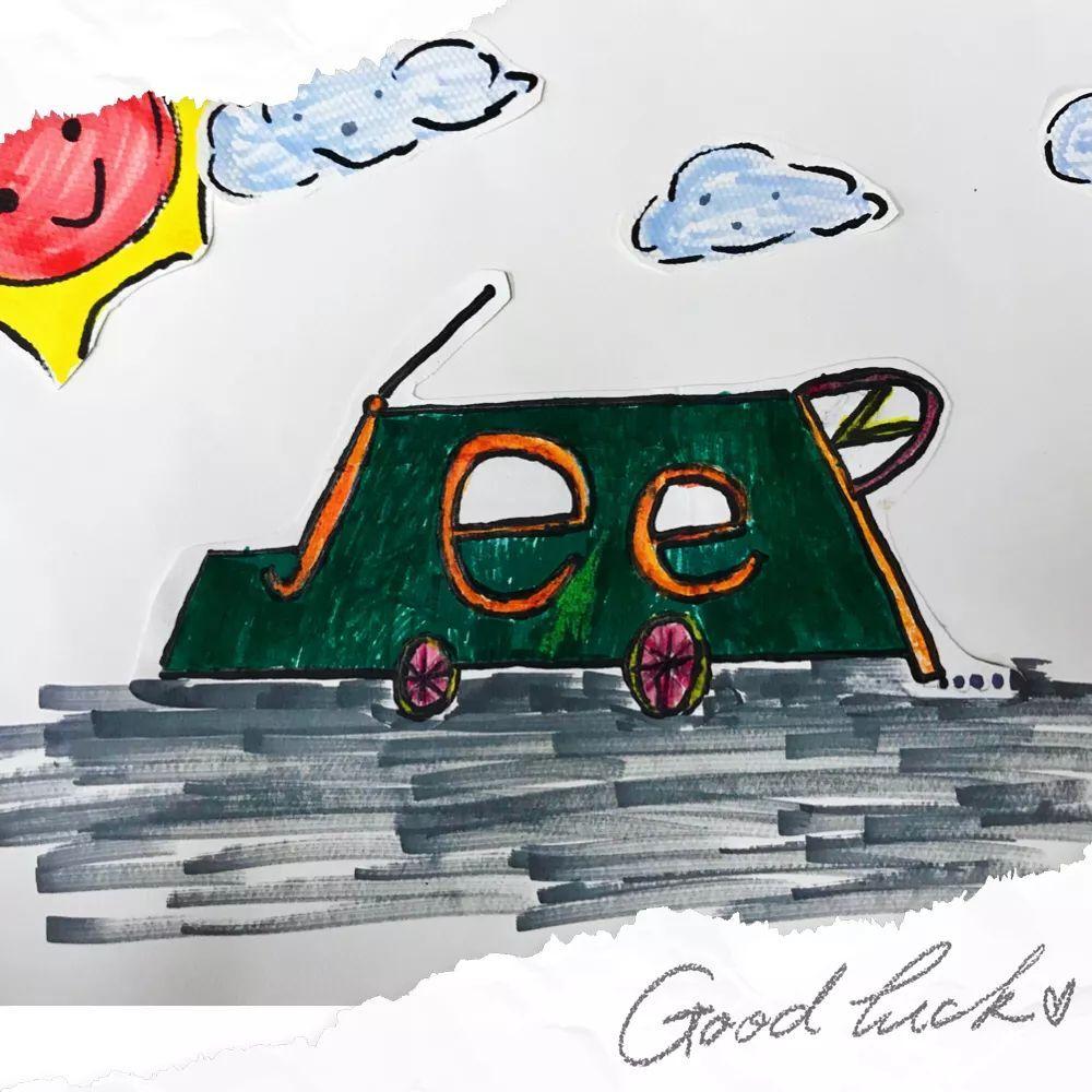 四年级单词创意画比赛获奖名单图片