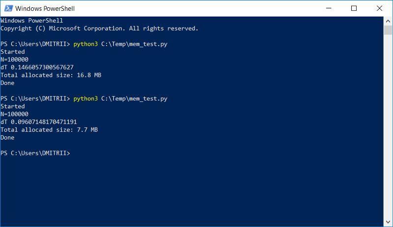 python怎么用Python高级技巧:用一行代码减少一半内存占用