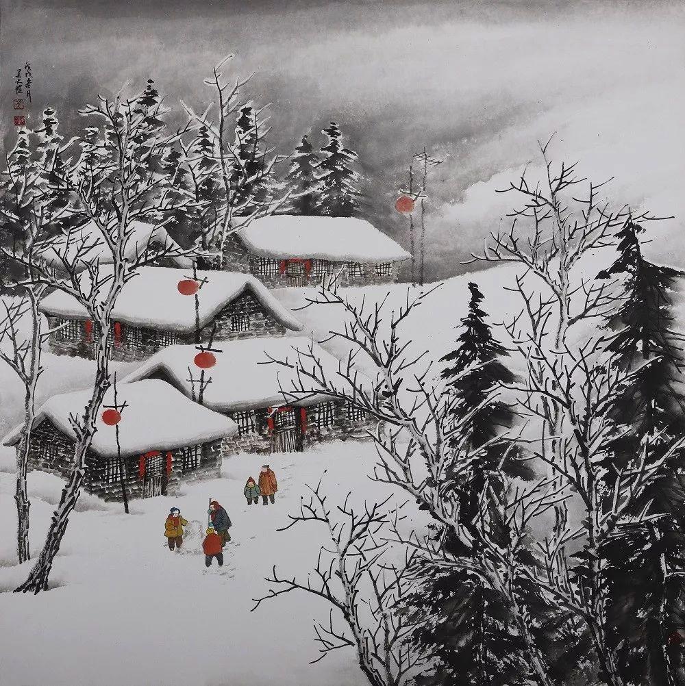 艺惠藏·吴大恺——全国最干净的雪景,摄影师都没拍到图片