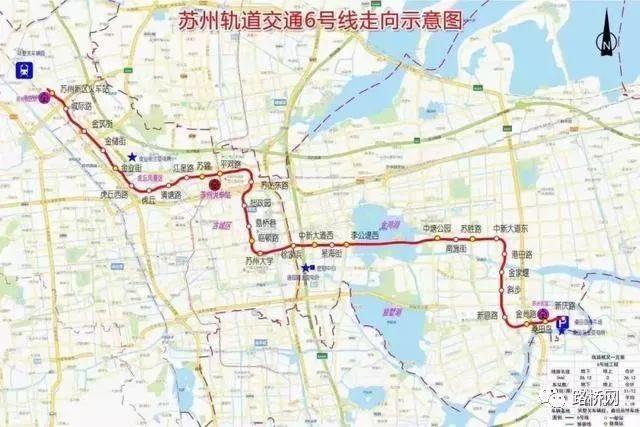 苏州地铁6号线,s1线正式开工!(附施工单位)图片