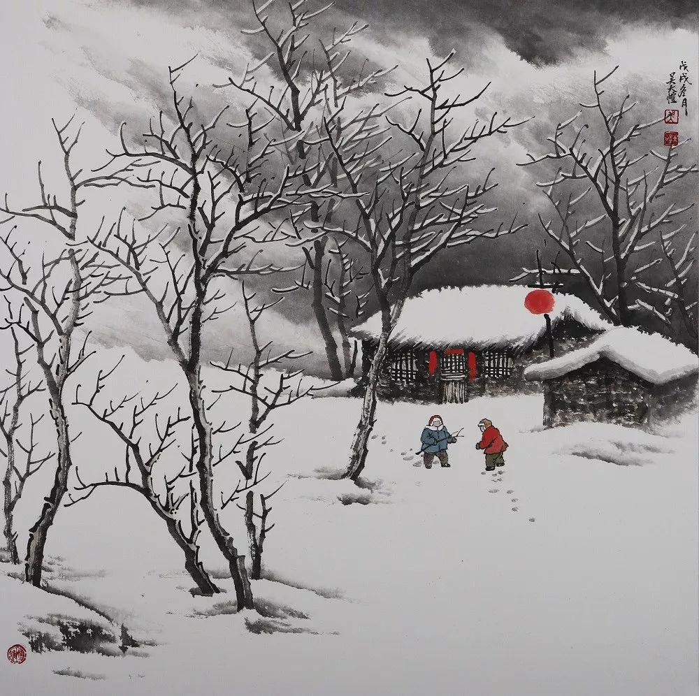 全国最干净的雪景,摄影师都没拍到过!_吴大恺图片
