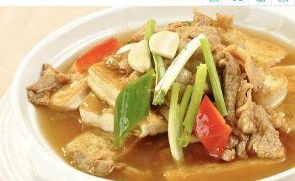 家常豆腐做法简单,汤汁浓厚