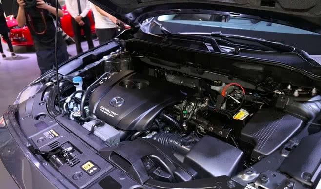 途昂凉了马自达CX-8价格曝光2528万起售比汉兰达大一圈_腾讯分分