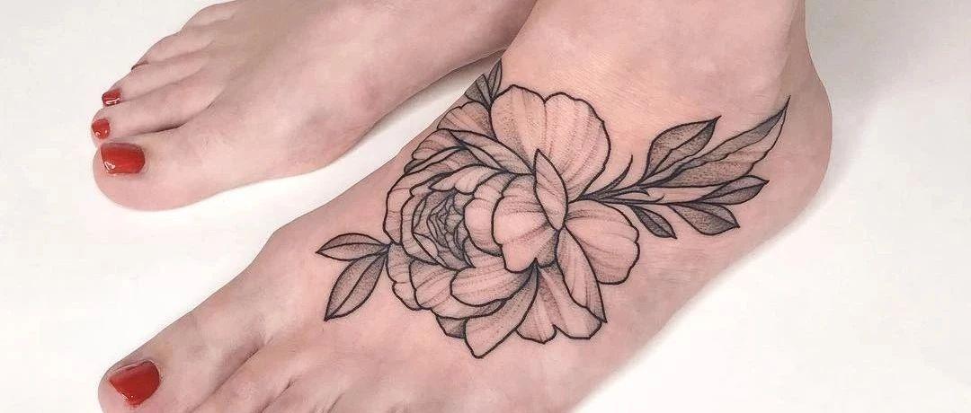 轻松搞定,素花纹身的新花样图片