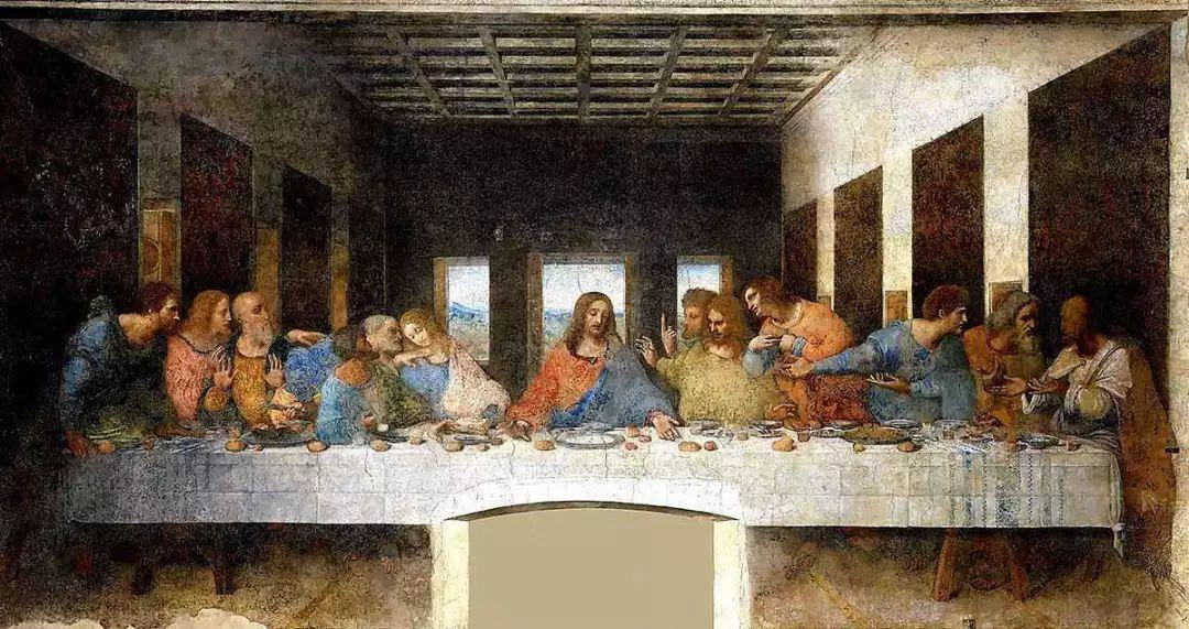 最后的晚餐已不是真迹