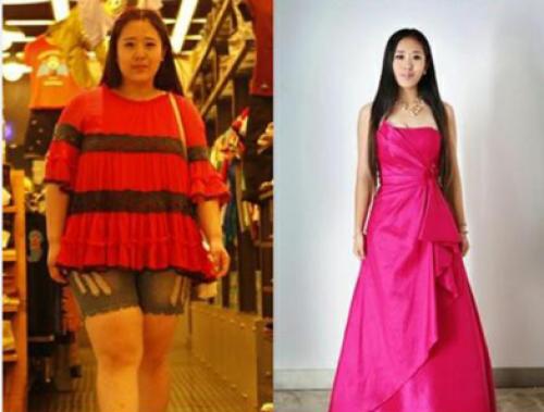 最美女胖子及伟佳逆袭照曝光画风骤变成窈窕淑女!