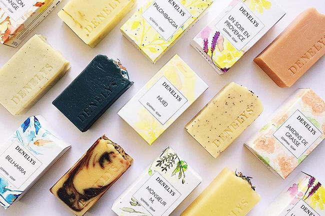 denelys香皂与精油包装设计
