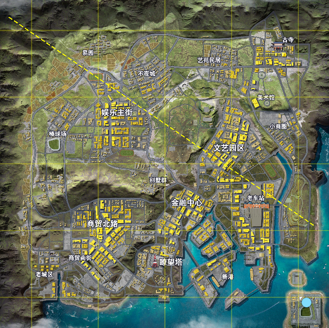 荒野行动更新:新地图抢先体验!2把世界名枪、3款都市载具同时登场!