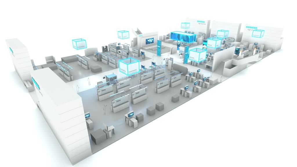 德国纽伦堡国际电气自动化系统及元器件展会之西门子篇
