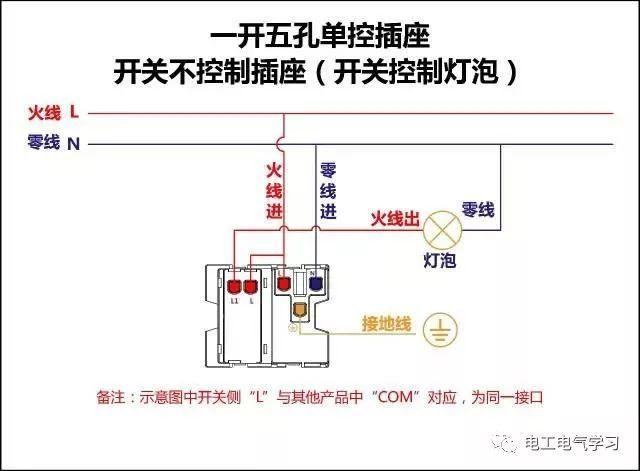 所有的开关 电机 断路器 电热偶 电表接线图大全 非常
