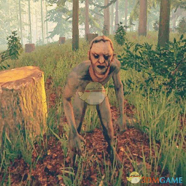 《森林》迷失森林野人介绍之——普通野人图片