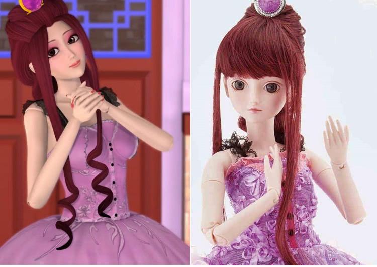 如果叶罗丽仙子们变成这样的娃娃,你们还会喜欢她们吗?