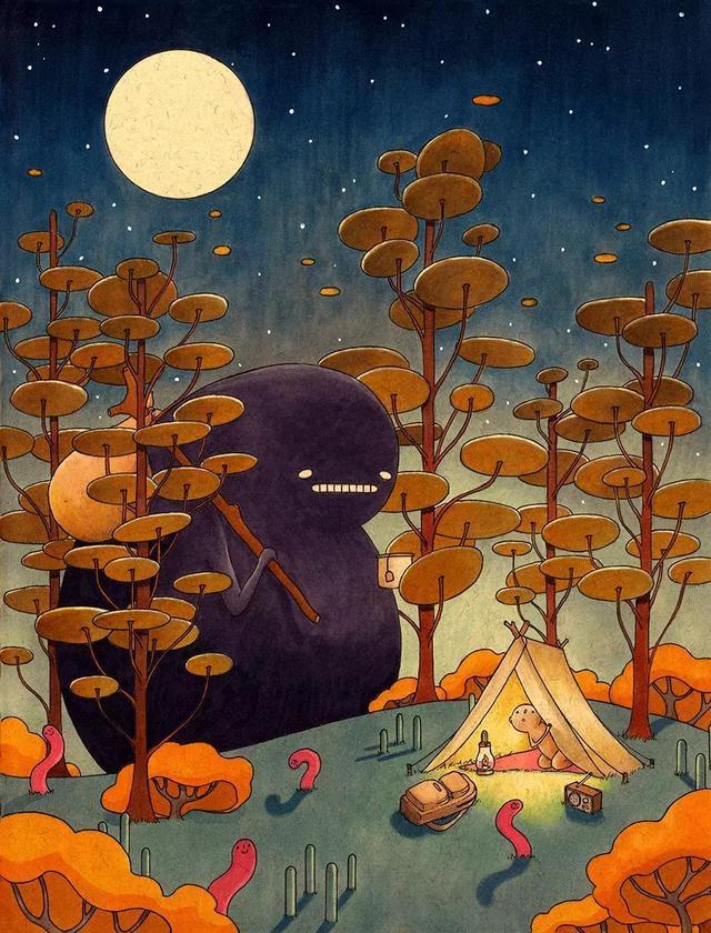 她藏在日记本的妖怪,恐怖中带点蠢萌