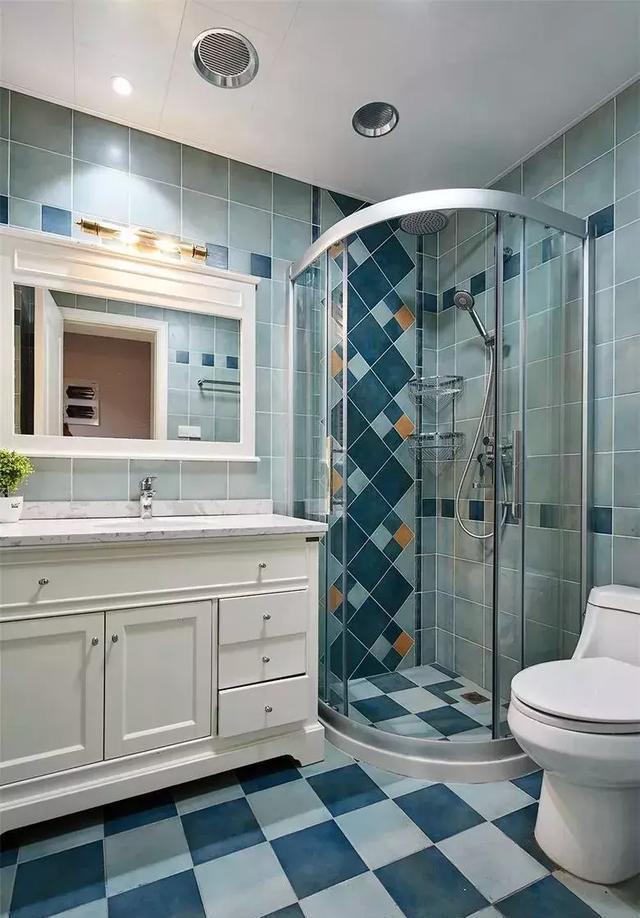 家中洗手间设计图