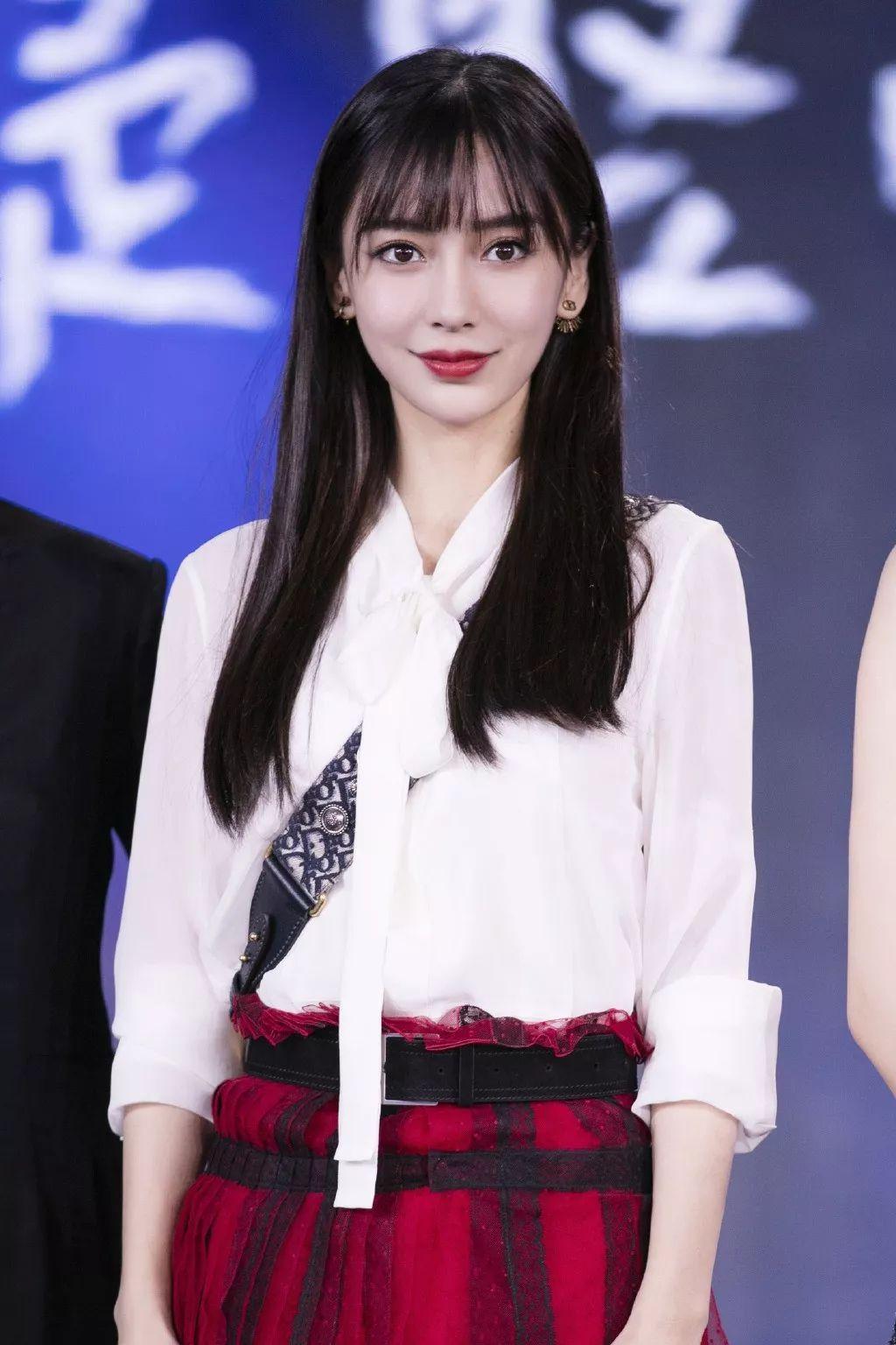 get女明星同款发型,颜值飙升!_齐刘海图片