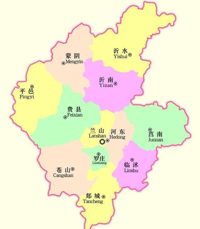 兰山gdp_2018年临沂各区县经济排名 兰山区第一,沂水第二,沂南人均最少
