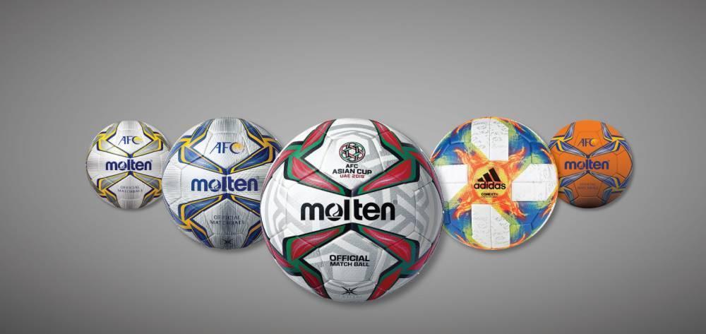 亚足联官方公布2019亚洲杯、亚冠比赛用球