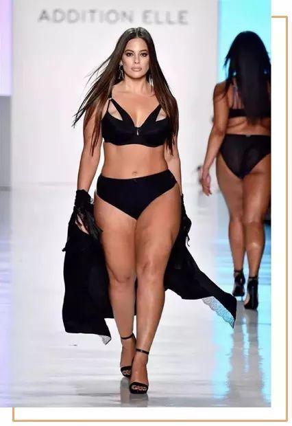 这种身材怎么可能当模特呢?