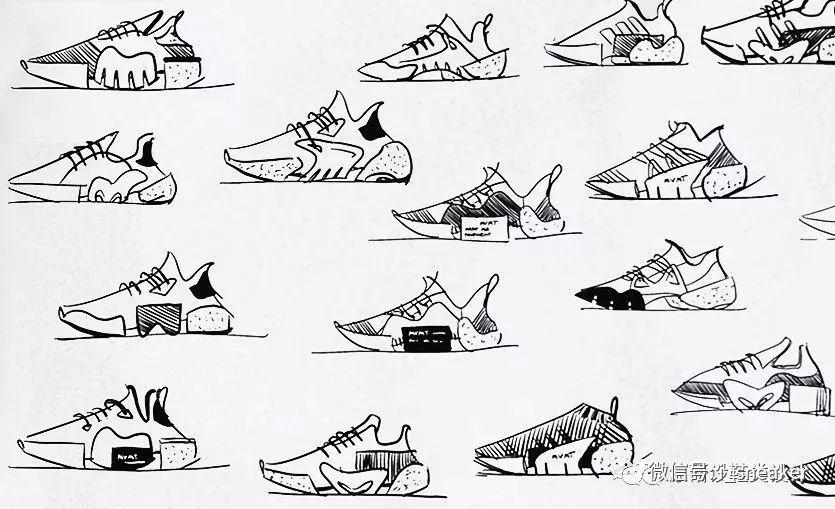 鞋设|这一波sneaker设计图你打几分?