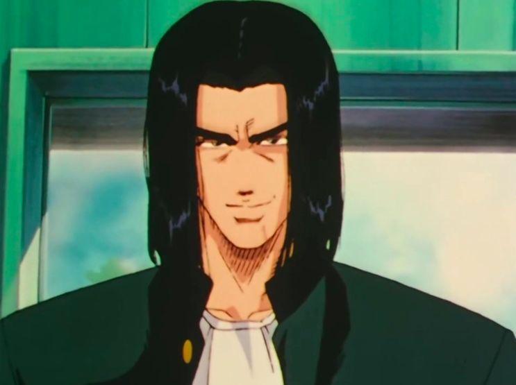 动漫 正文  《我是大哥大》中,主角三桥贵志与伊藤真司在首次亮相时