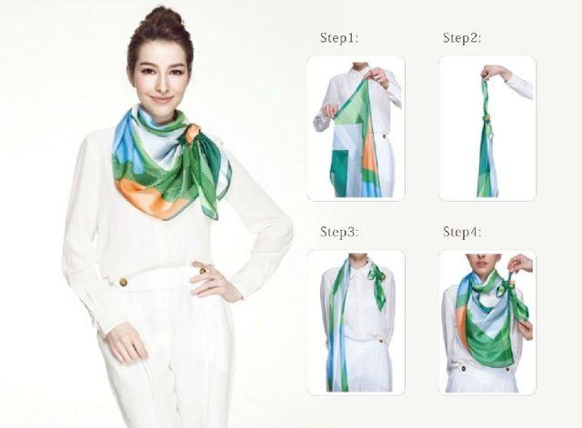 围巾怎么搭配时尚又好看?