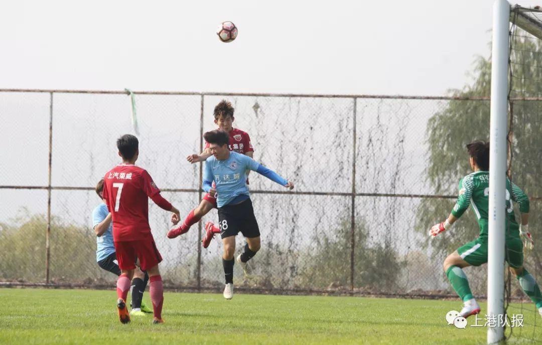 逆转大连一方,U23联赛次轮上港队拿下三分,李浩文生日收获进球