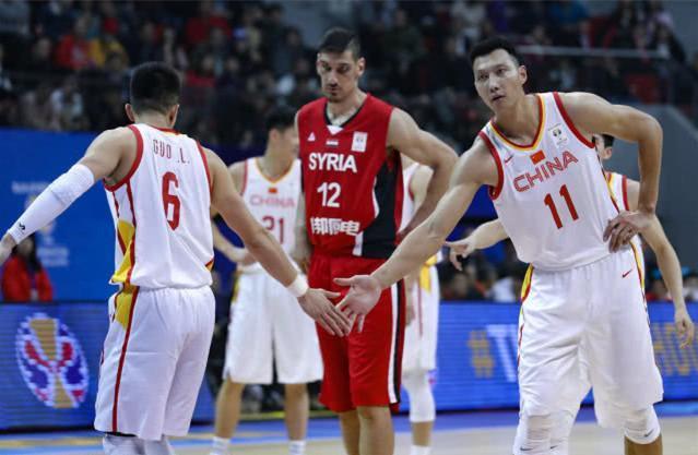 中国男篮49分胜叙利亚还获另1好消息两人重返国家队表现完美