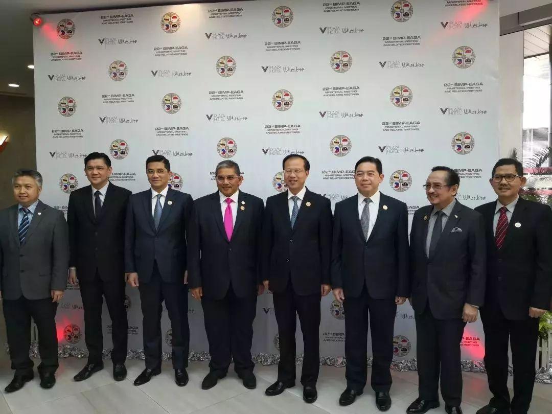 东盟东部增长区(简称增长区)国家部长级官员和东盟秘书长林玉辉等出席图片