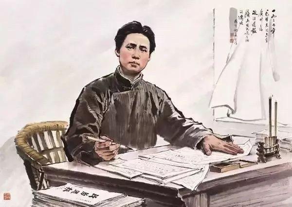 年轻时候的毛泽东,从来不焦虑
