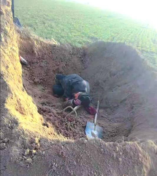 七旬男子掘人祖坟 发生冲突后死亡 曾3次掘人祖坟
