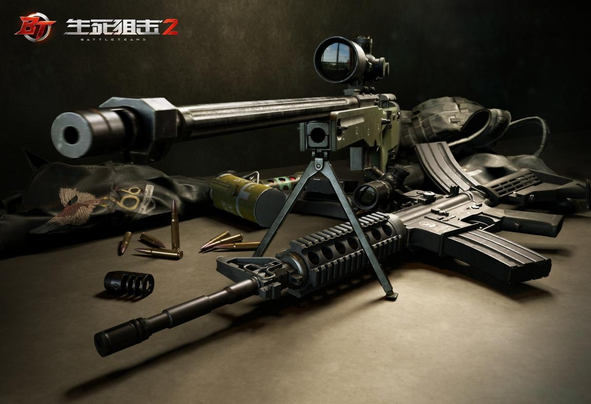 《生死狙击2》全新武器高模曝光 超精细质感诠释次世代游戏