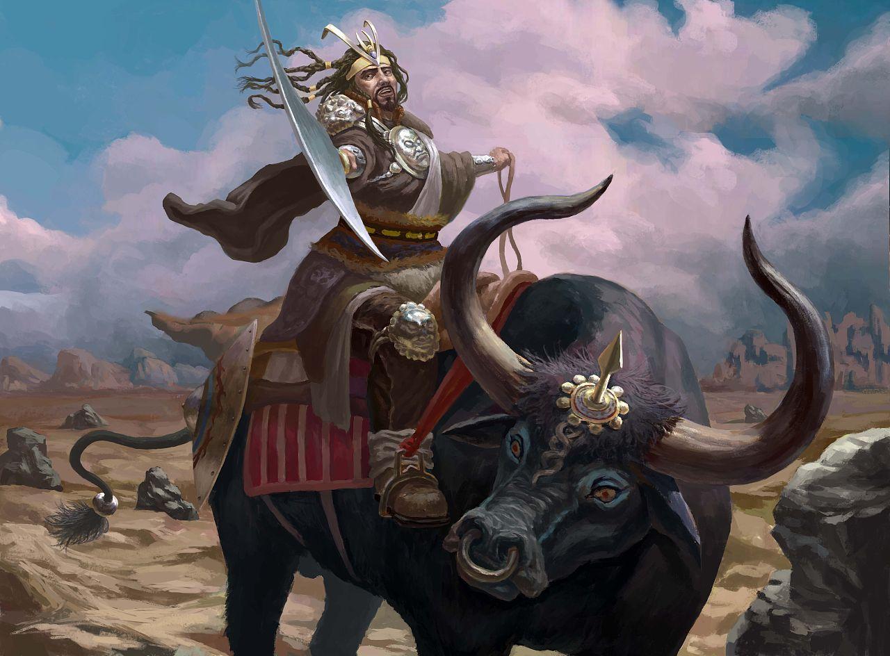 牛气冲天!盘点神话里十二神牛,牛魔王排第四,第三是蚩尤克星!